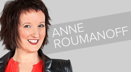 Anne ROUMANOFF one woman show vignette