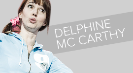 Delphine MC CARTY one man show vignette