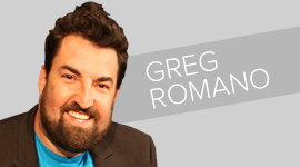 Greg Romano one man show vignette