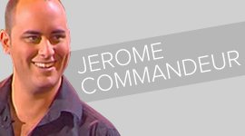 Jérome COMMANDEUR one man show vignette