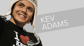 Kev ADAMS vignette